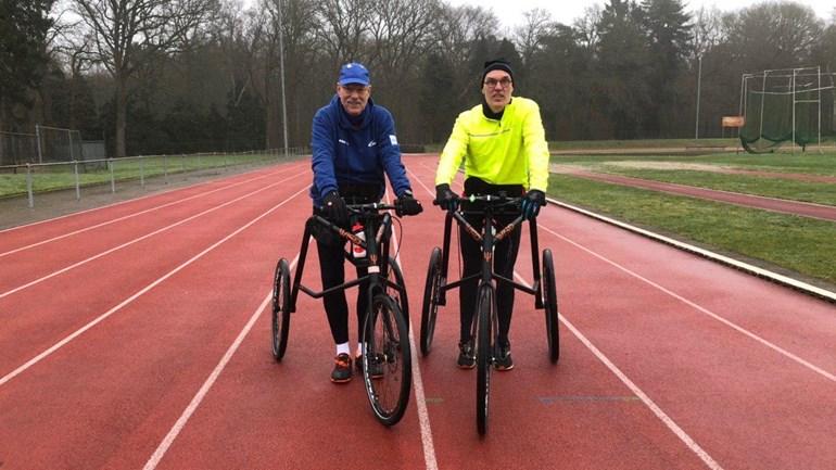 Racerunners trainen voor marathon in Denemarken - RTV Drenthe