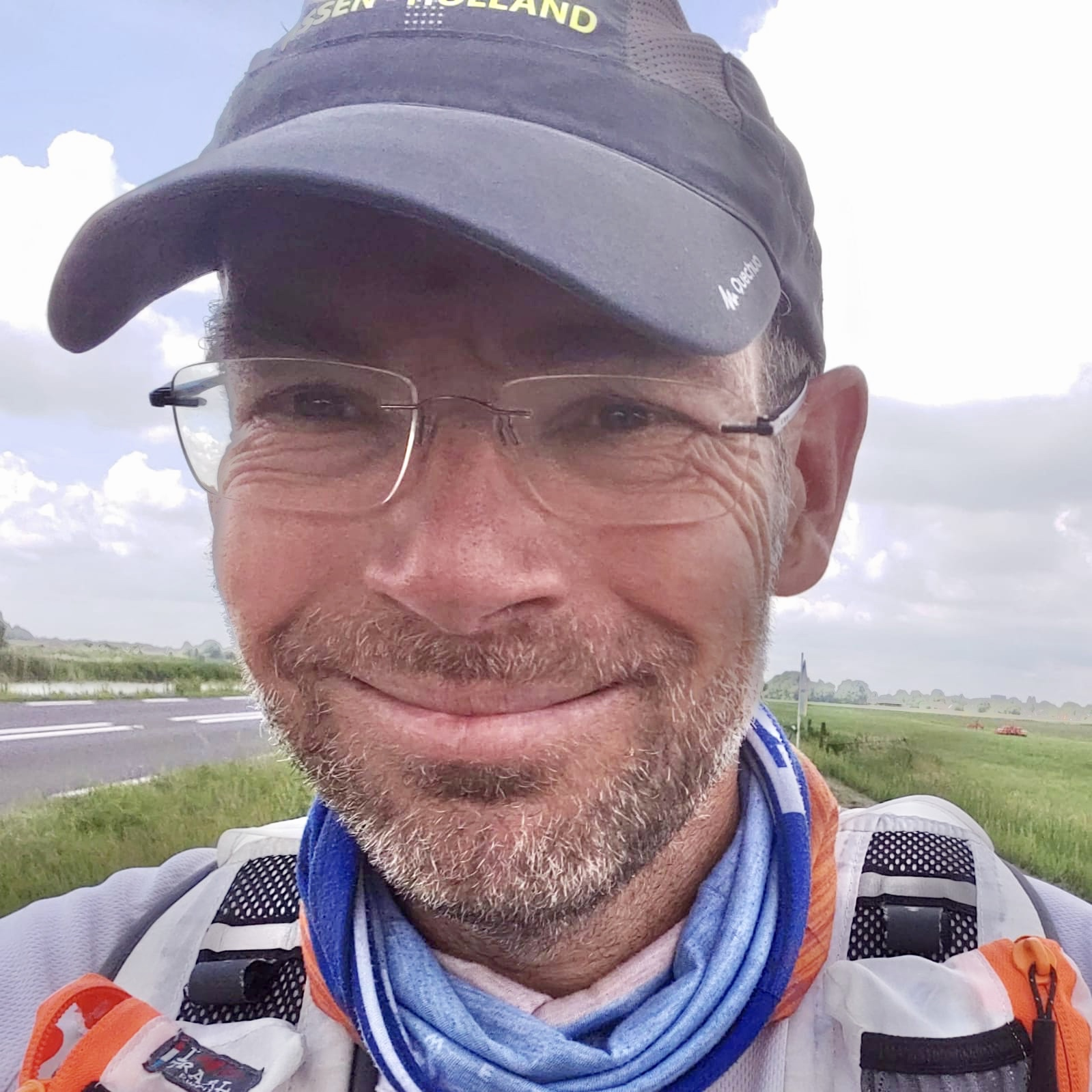 Eddy Hedemann loopt 100 mijl